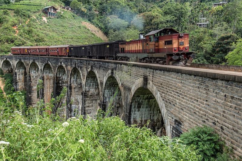 Nine Arches Bridge Ella, Sri Lanka