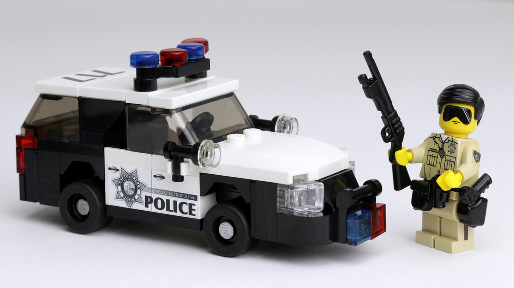 Las Vegas Metro Police Dept Brick Police Is Also On Ins Flickr