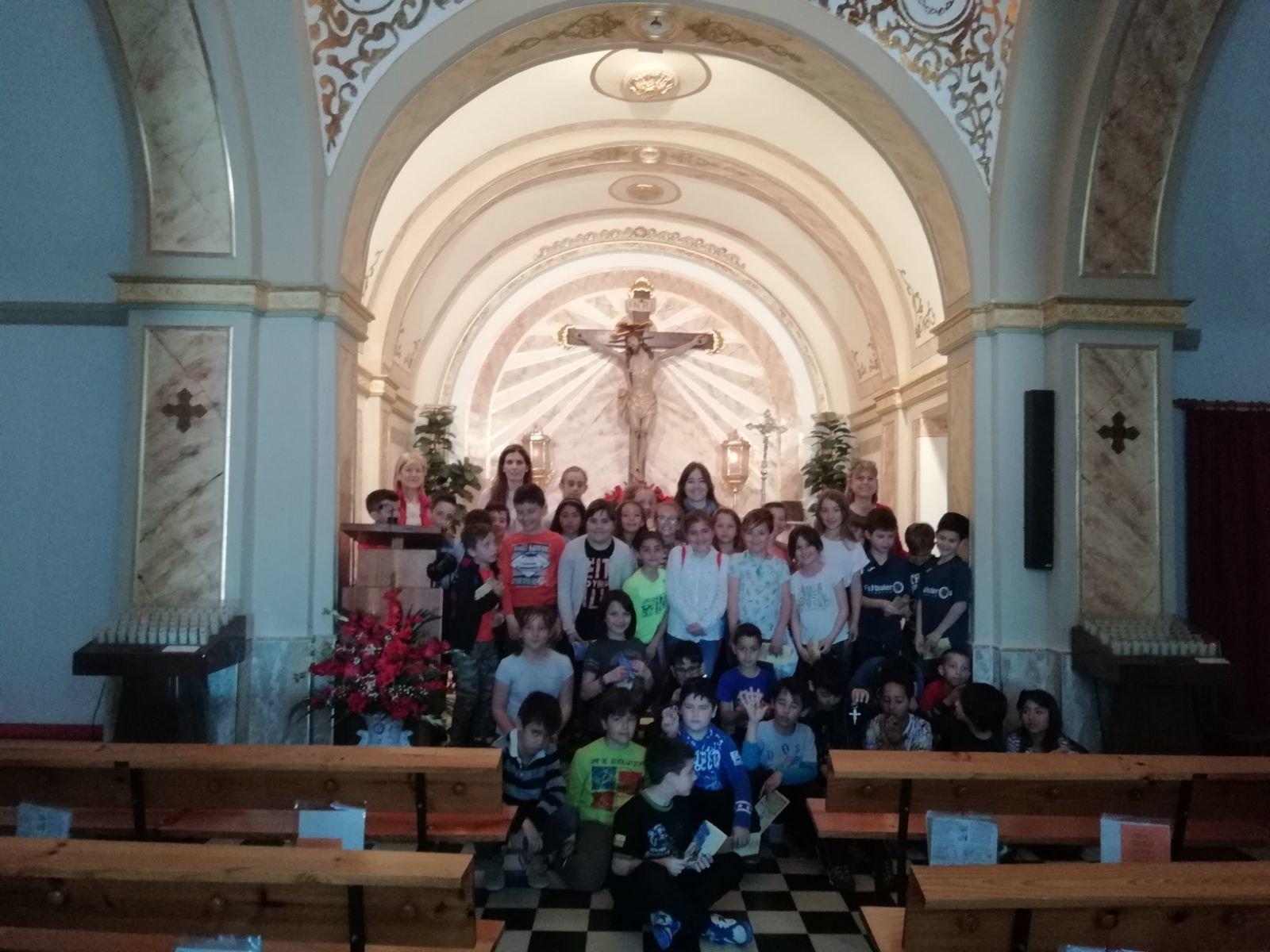 (2018-04-18) - Visita ermita alumnos Beatriz-Carmina-Lucía,3º,La Foia - María Isabel Berenguer Brotons - (08)