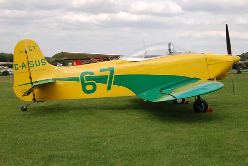 G-ASUS Jurca MJ-2E (PFA 2001) Popham 080810