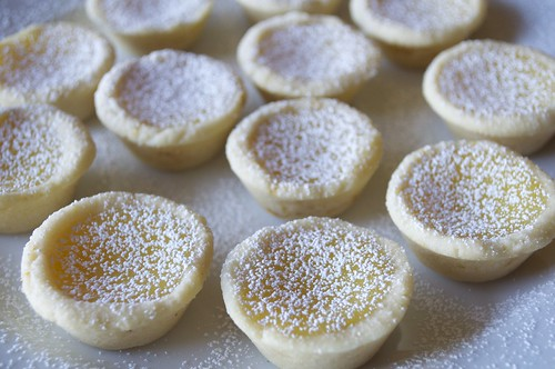 Meyer Lemon Tartlets with a Sugar Cookie Crust | by twoyoungladies