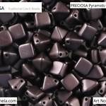 PRECIOSA Pyramids - 111 01 336 - 02010/25036 - Chocolate Brown