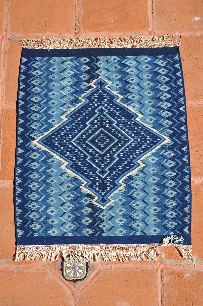 Oaxaca Zapotec Rug Weaving Mexico Very Fine Wool Tapete