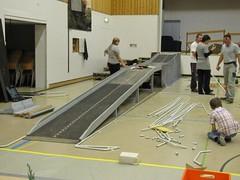 Nationales Treffen 2010 Gelterkinden (Aufbau)