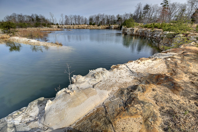 Sandstone quarry, Crab Orchard Mountains Group, Highway 156, Marion County, Tennessee 1