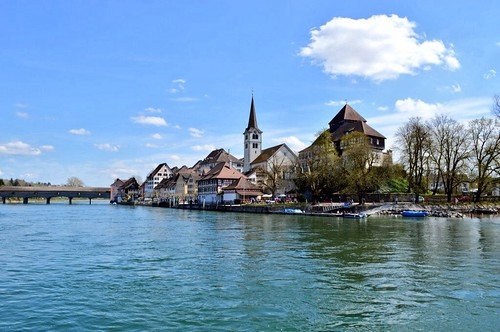 architecture switzerland swiss medieval rhine picturesque rhein diessenhofen iloveeurope