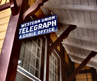 Sunol Western Union Telegraph & Cable Office | by leighklotz