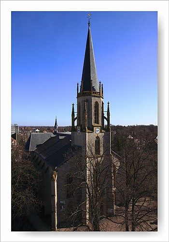 Martin-Luther-Kirche Gütersloh | www.flickr.com/photos