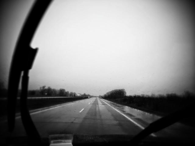Rainy road home