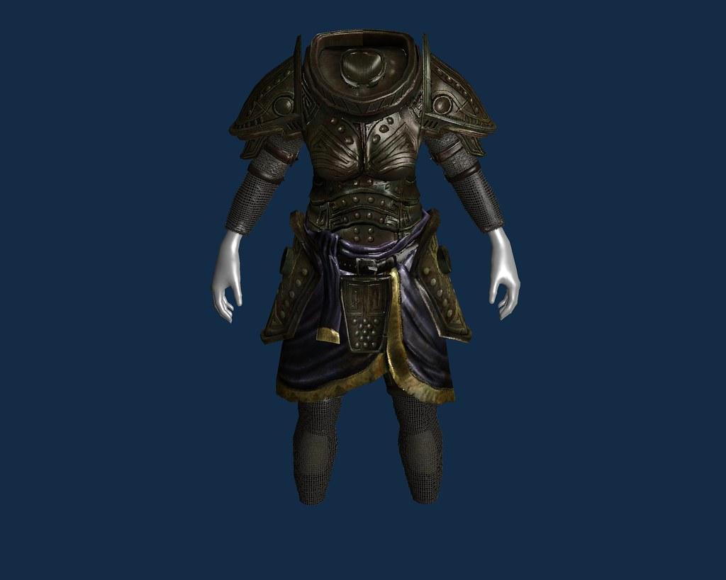 Dwarven Female Armour restart + chainlink1 sleeves legs | Flickr