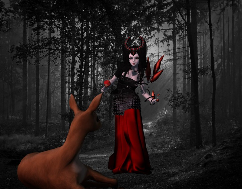 The Red Witch found her prey