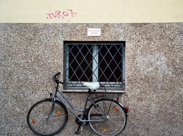 Anlehnen von Fahrrädern nicht gestattet - I shot film