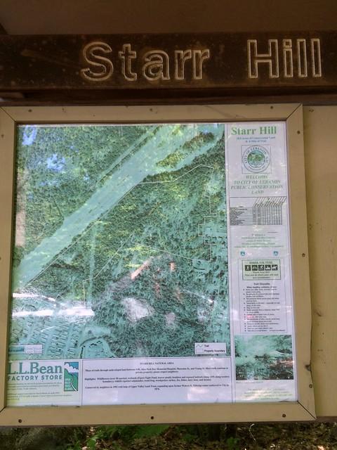 lebanon map hiking newhampshire starrhill