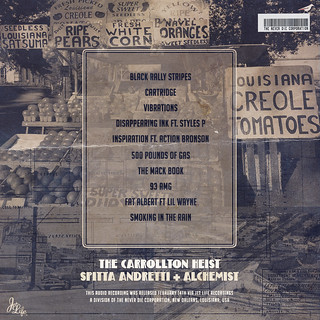Curren$y - The Carrollton Heist (Back) | by fortyfps