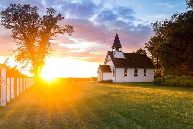 The Church Of The Setting Sun