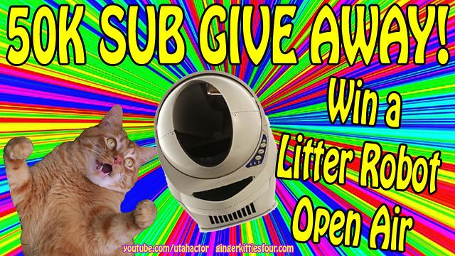 Win a Litter Robot Open Air!
