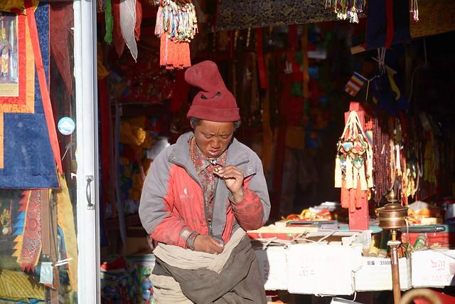 Shop in Darchen, Tibet 2015