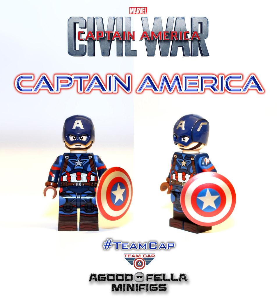 Captain America [MCU] [Civil War] [MOD]   instagram: instagr