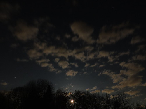 park trees ohio sky moon lake nature skyline night clouds contrast dark lens landscape outside nikon long exposure nightshot vivid iso april fixed exploration akron active sharpness dlighting p520 nikonp520