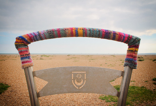 Yarn Bombed in Southsea   by Hexagoneye Photography
