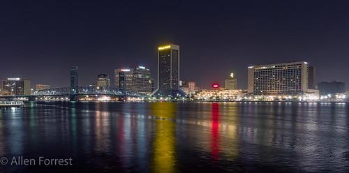 florida jacksonville commercialbuilding river unitedstates us bluehour
