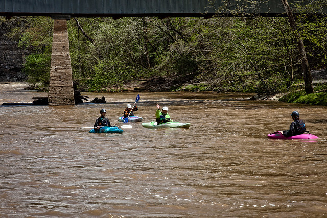 Kayak on the Black Warrior River