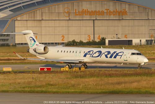 20160705 9091 S5-AAN CRJ-900LR JP 125 FRA-LJU   by Giancarlo Scolari