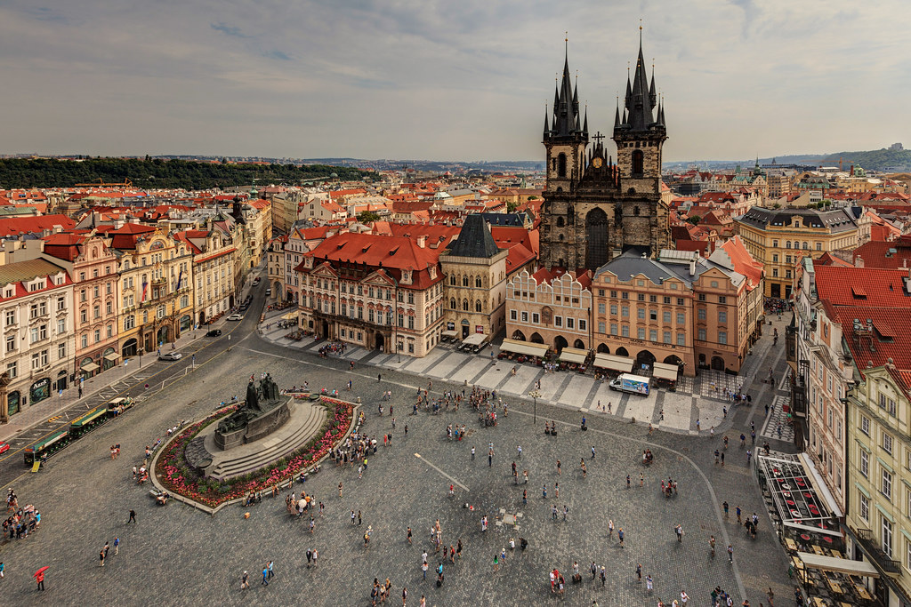 Image: Old Town Square of Prague