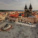 Old Town Square of Prague by Xenedis
