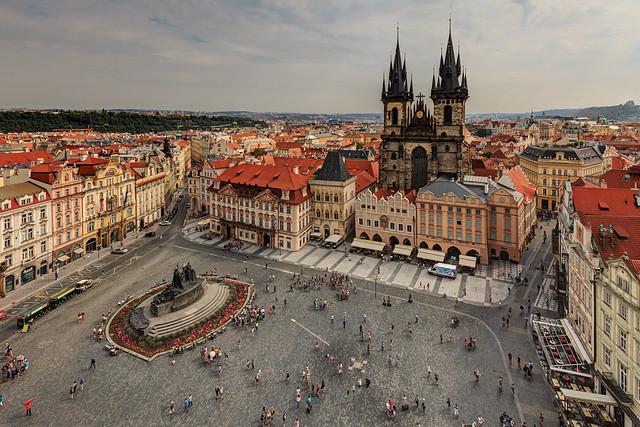 Next: Old Town Square of Prague