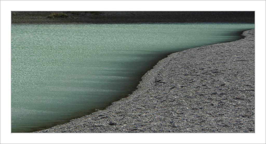 Vent glacial sur le Lago Grey - Torres del Paine / Chili