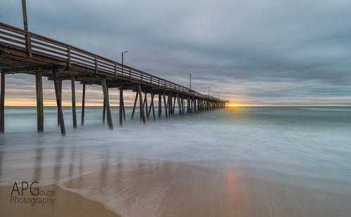 sun detail beach clouds sunrise coast virginia pier nikon va topaz d600 denoise topazlabs nikond600 topazdenoise topazdetail topazclarity