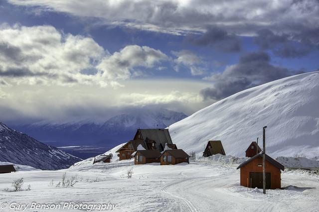 Hatcher Pass Ski Cabins