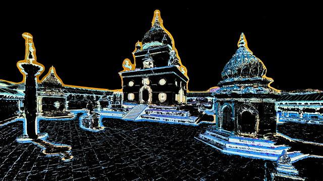 Nepal - Patan - Temple - 148bb