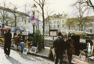 Place du Tertre? Paris, March 1989