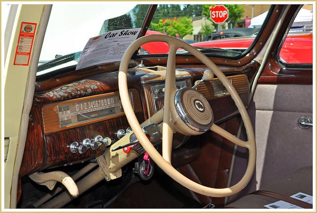 1941 Packard 4 Door Sedan Dash