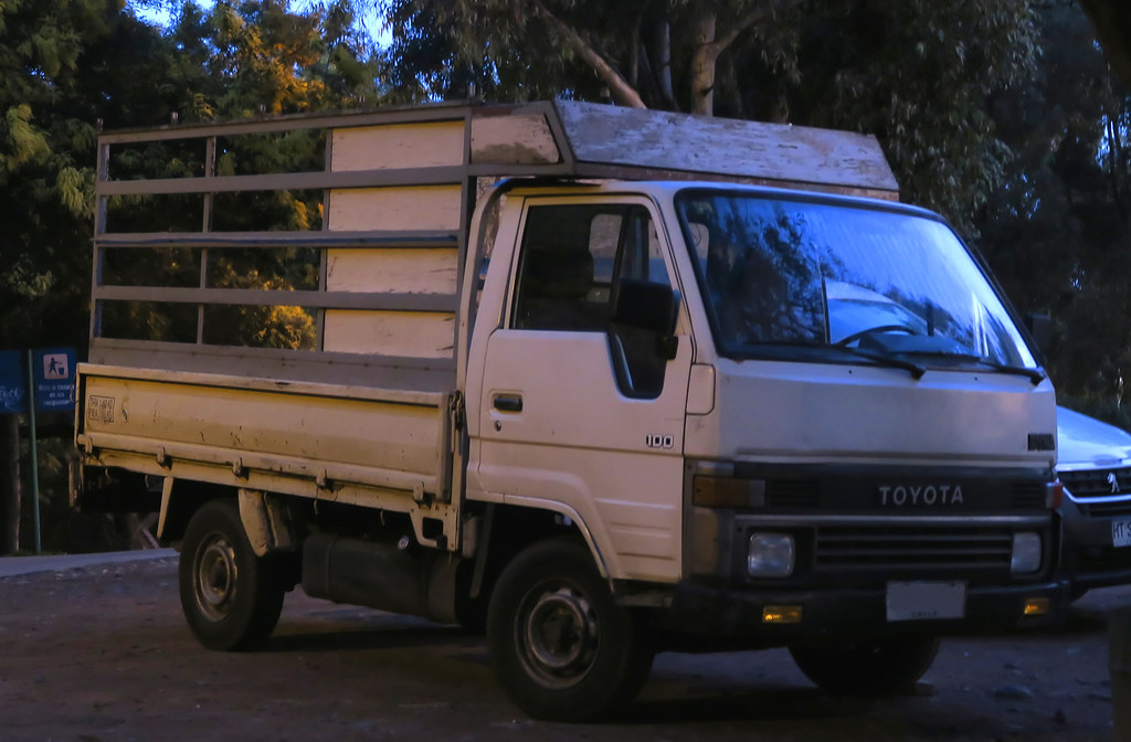 Toyota Dyna 100 2.4d 1986