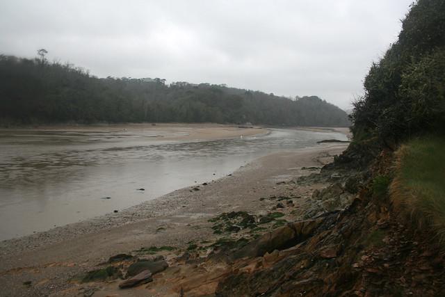 Wonwell Beach and the River Erme