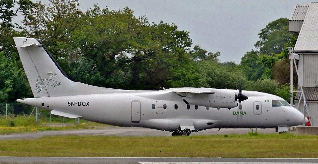 5N-DOX  Dornier Do328-110 DANA  | DANA Airways (Nigeria) Sto