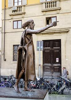 St. John the Baptist by Giuliano Vanci. Oltrarno, Florence, 2014 | by Tigra K