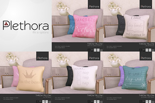 Plethora - Throw Pillows