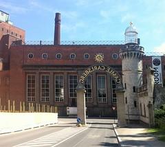 Carlsberg Byen - Maskincentralen (1929) and Kridttårnet (1883)