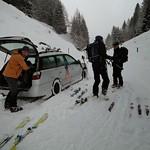 Cyprianspitz, Skitourentage, 27. Jan 2014