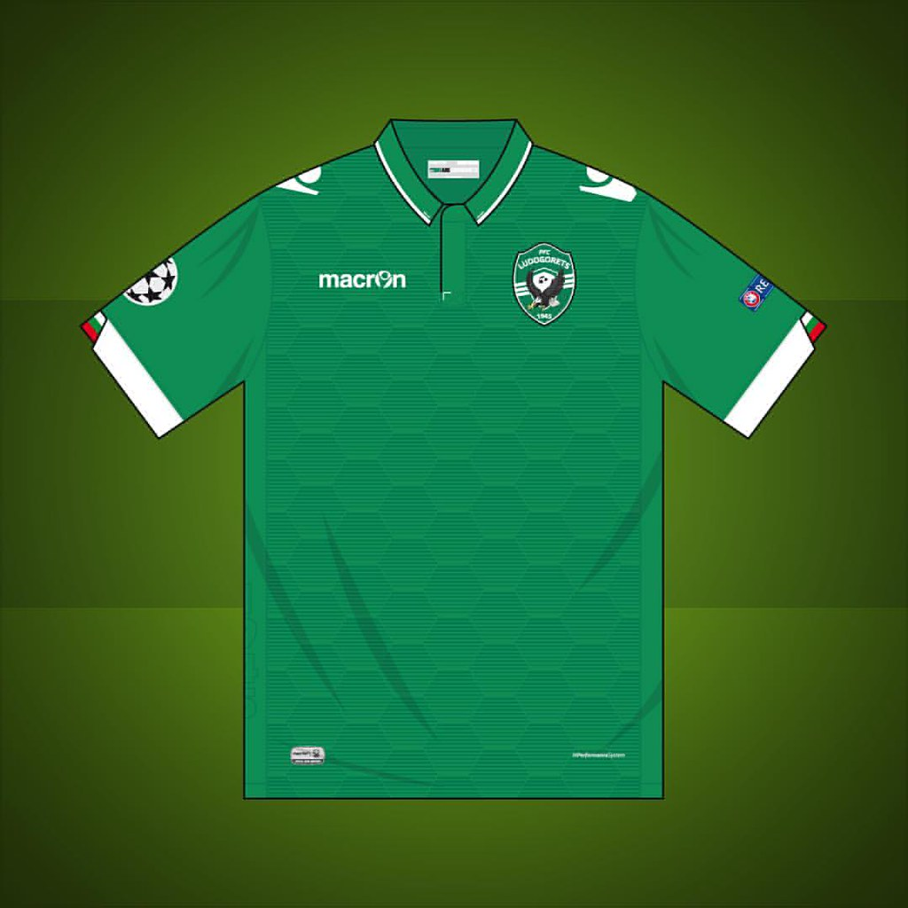 Ludogorets Champions League Home Shirt 2016 2017 Ludogore Flickr