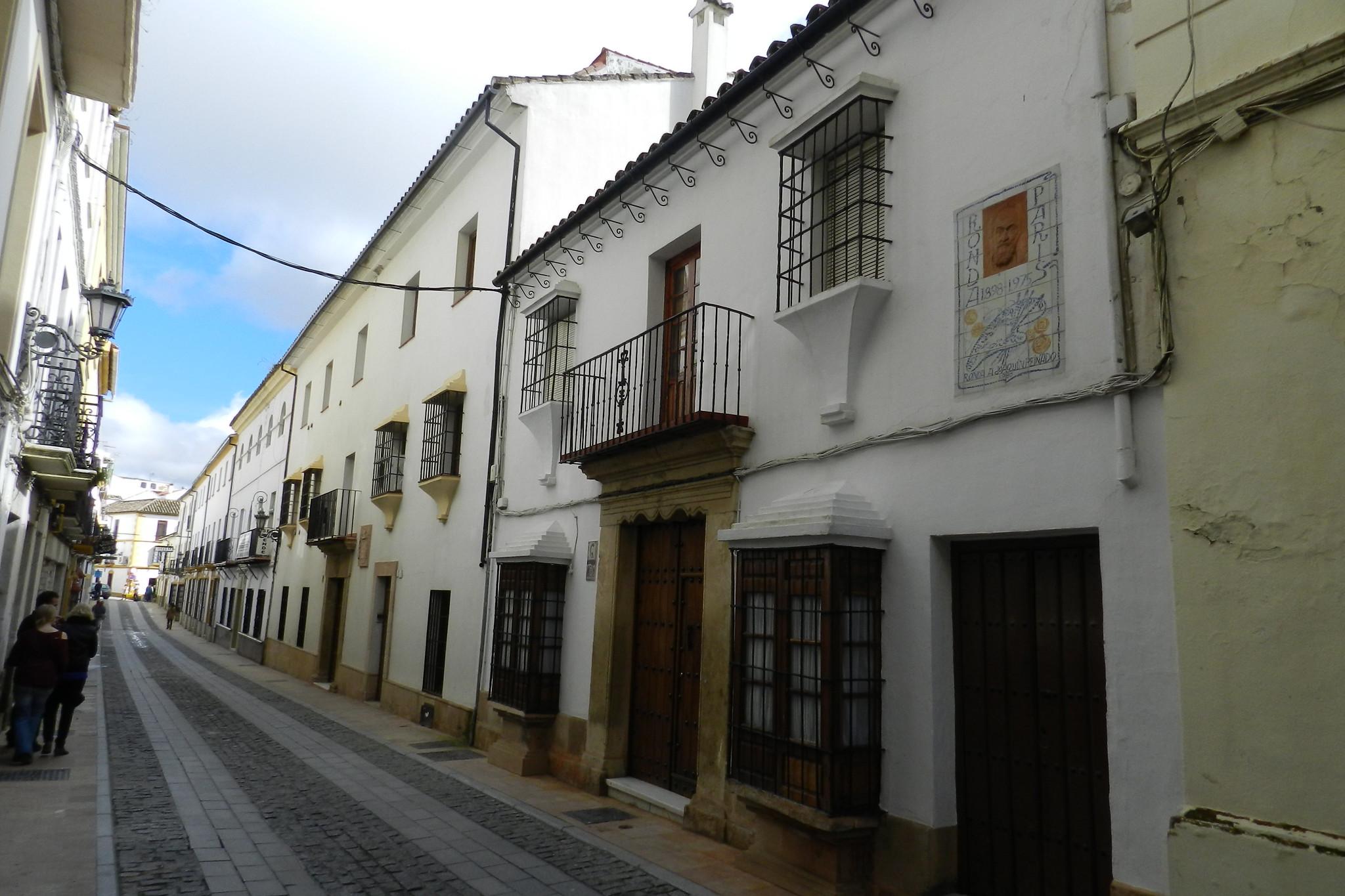 calle Casco histórico de Ronda Málaga