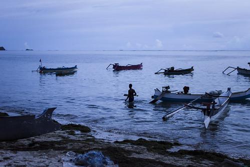 Anochecer en la playa de Kuta, Lombok | by TheTimeTraveler!