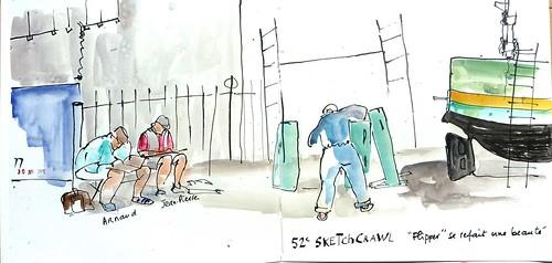 La Rochelle, 52e Sketchcrawl | by Joëlle B.