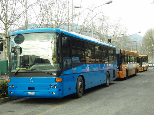 Suburban buses at La Spezia (Italy) | by photobeppus