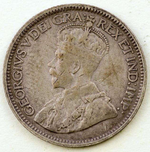 Coin photography - 1917 Canada ten cents