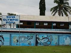 Suva Olymic Pool - Outside